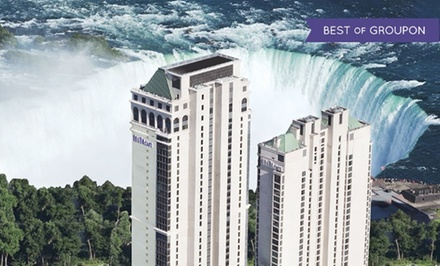 Stay with Leisure Package at Hilton Hotel and Suites Niagara Falls/Fallsview in Ontario. Dates into April.