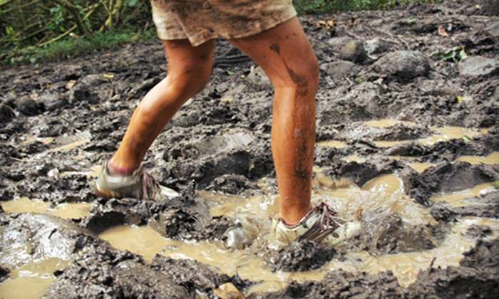 D4L 5k Zombie Mud Run - Smithville: D4L 5K Zombie Mud Run Race Entry for One or Two (Up to 54% Off)