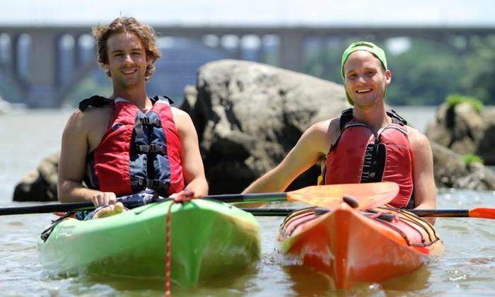 Boating in Boston - Multiple Locations: $40 for Four  One-Hour Rentals for 1- or 2-Person Kayaks or Paddleboards from Boating in Boston ($80 Value)