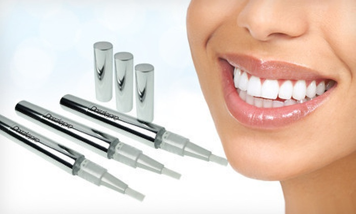 Premium Home Whitening: $15 for a Three-Pack of Dazzle Pro Teeth-Whitening Pens ($87 List Price)