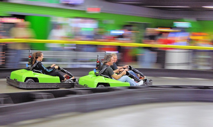 Lightspeed Entertainment - Greenfield: Unlimited Laser Tag and Go-Karts for Two or Four at LightSpeed Entertainment (Up to 44% Off)