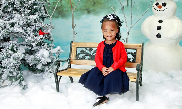 Lasting Expressions - Multiple Locations: Children's Holiday Photo-Shoot Package or Photo-Shoot Package for Up to Seven at Lasting Expressions (79% Off)