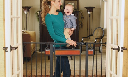 One or Two Regalo Home Accents Extra Wide Gates.