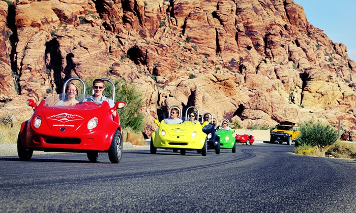 Scoot City Tours - Las Vegas: $199 for a Two-Person Scootercar Tour of Red Rock Canyon from Scoot City Tours ($250 Value)