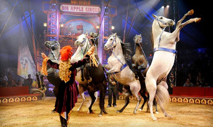 """Big Apple Circus - Lincoln Center: Big Apple Circus's """"Luminocity"""" at Lincoln Center on Select Dates, October 25–November 23 (Up to 41% Off)"""