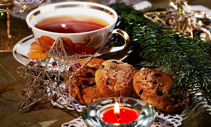 Infini-tea - Antioch: Holiday Dinner Party for 10 People or $11 for $20 Worth of Lunch Fare, Tea, and Bulk Tea at Infini-tea (Up to 45% Off)