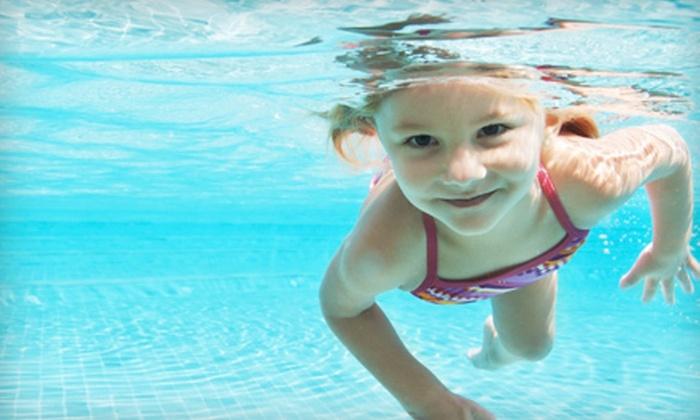 Little Fins Swim School - Village Seven: $35 for Two Private Swim Lessons at Little Fins Swim School ($70 Value)