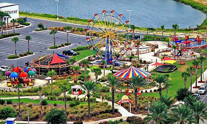 Miracle Strip At Pier Park Panama City Beach One Day Unlimited Rides Pes