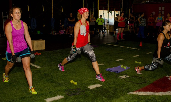 Fit Brigade - Staffordshire Park: Four Weeks of Unlimited Boot-Camp Classes at Fit Brigade (66% Off)