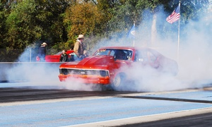 Grove Creek Raceway: Drag Racing Admission for 2, 4, or 6 with a Pit Pass and Free Parking at Grove Creek Raceway (Up to 52% Off)