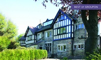 Peak District: 1 to 3 Nights For Two With Breakfast and Dinner at the Alison Park Hotel