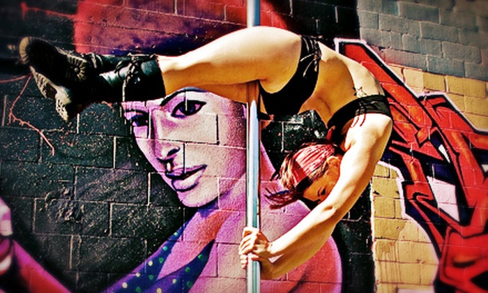 Brass Ovaries Pole Dancing - MLK: One, Three, or Five Group Classes at Brass Ovaries Pole Dancing (Up to 72% Off)