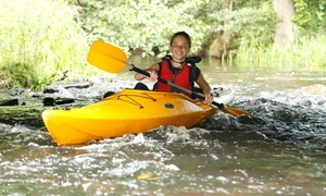 FAMILYday: Spływ kajakowy rzeką Łebą, Łupawą, Słupią lub Bukowiną od 44,99 zł i więcej opcji w FAMILYday