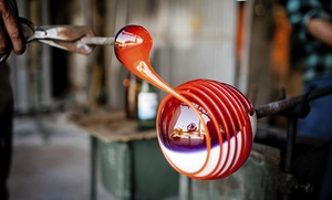 Glass By James Michael & Co.: $90 for a Three-Hour Glass-Blowing Make-a-Paperweight Class at Glass By James Michael & Co. ($165 Value)