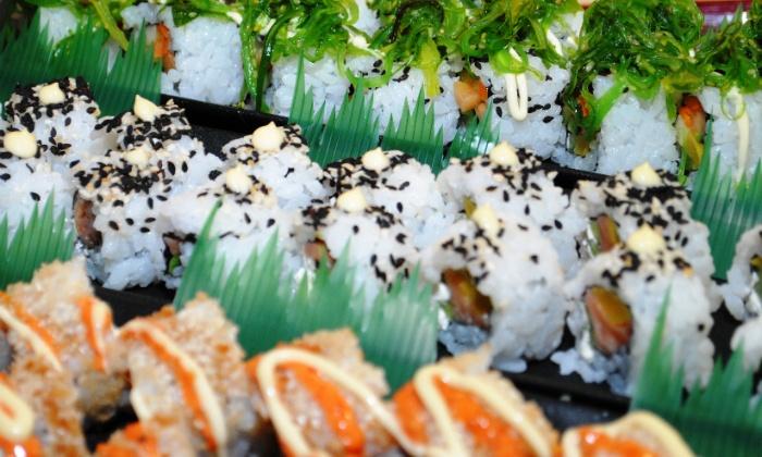 Sushi Buffet Pool Pass
