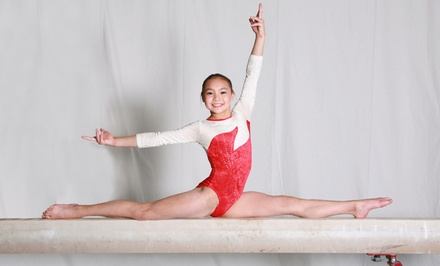 $63for One Week of Gymnastics Summer Day Camp for Kids Age 5–16 at All Star Gymnastics ($130Value)