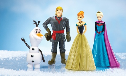 Disney Frozen 4-Piece Figurine Set