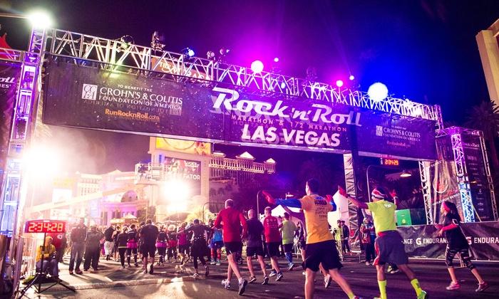 Rock 'n' Roll Marathon  - Las Vegas Convention Center - Health and Fitness Expo: Rock 'n' Roll Marathon with Kid Rock and Matt and Kim: 5K, 10K, Half Marathon, or Marathon on November 14 or 15