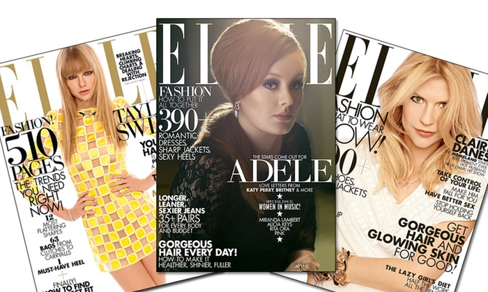 ELLE Magazine Subscription: $5 for a One-Year Subscription to ELLE Magazine ($10 List Price). Free Shipping.