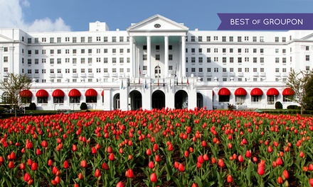 Stay at The Greenbrier in White Sulphur Springs, WV, with Dates into June