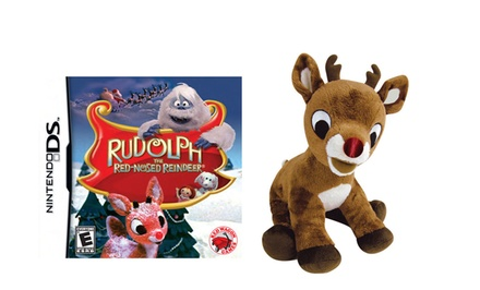 Rudolph the Red-Nosed Reindeer for Nintendo DS with Rudolph Plush Toy. Free Returns.