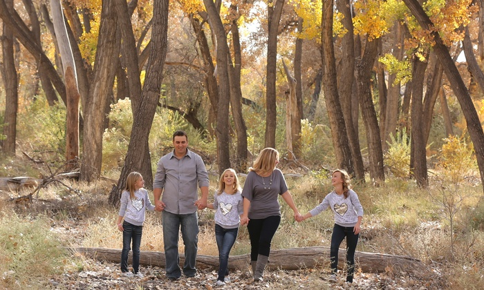 Natural Touch Photography - Albuquerque: $60 for a 45-Minute On-Location Family Photo Shoot with Prints from Natural Touch Photography ($200 Value)