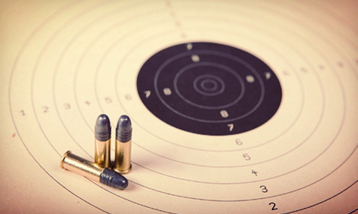Freedom Firearms - Battle Creek: Shooting-Range Package with One-Hour Lane Rental for Two or Four at Freedom Firearms in Battle Creek (Up to 60% Off)