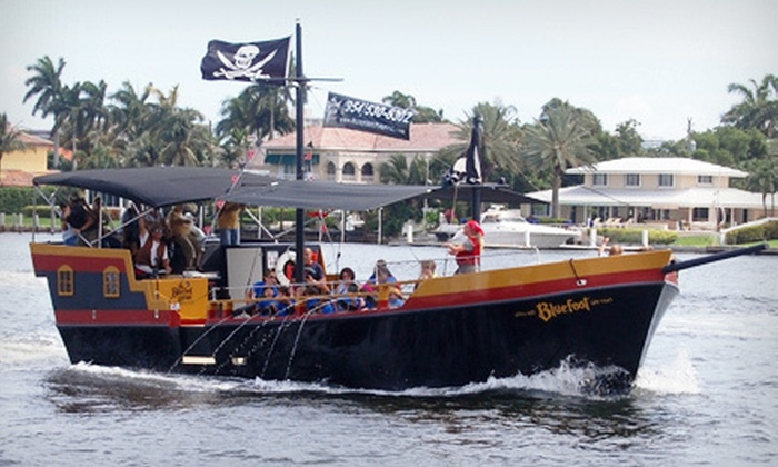 Bluefoot Pirate Adventures - Fort Lauderdale: $24 for a Pirate Treasure Hunt and Sailing Adventure for Two from Bluefoot Pirate Adventures ($50 Value)