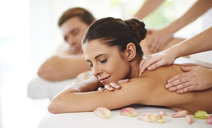 image for One 50 or 80-Minute <strong>Swedish</strong> or Deep Tissue Couples <strong>Massage</strong> at ReVital <strong>Massage</strong> and Spa (Up to 18% Off)