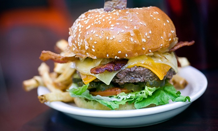 Hamburger Mary's - St. Nicholas: $10 for $20 Worth of Burgers and Sandwiches at Hamburger Mary's