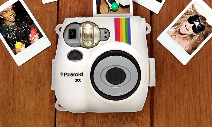 Polaroid Camera and 3-Pack Film | Groupon