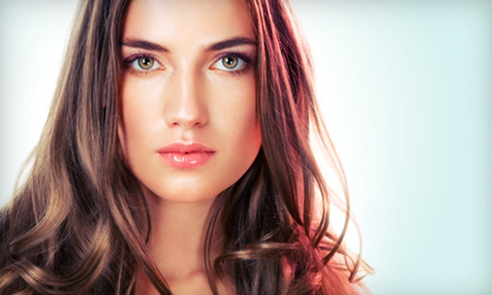 Neely O'Hair - Cultural District: Cut, Style, and Reconstructive Hair Treatments with Optional Full or Partial Highlights at Neely O'Hair (Up to 71% Off)
