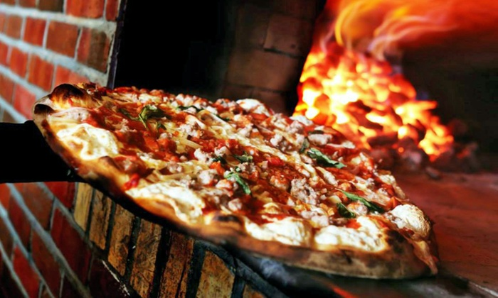 Grimaldi's Pizzeria - Coney Island: Pizza and Drinks at Grimaldi's Pizzeria (Up to 44% Off). Two Options Available.