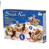 Two-Pack of Gingerbread Ornament or Sleigh Kits