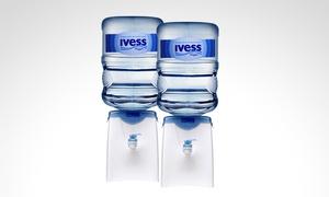 Agua Ivess Rosario: Desde $69 por botellón de 12 litros + dispenser con opción a 6 sodas en IVESS Rosario con envío