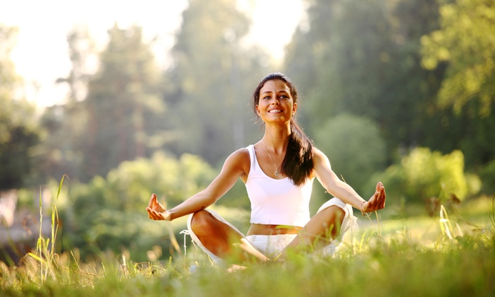 Kalm Yoga - Sandia High School Area: Two 60-Minute Vinyasa Yoga Classes from Kalm Yoga (70% Off)
