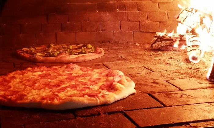 The Stone & the Peel - Moonachie: Pizzeria Cuisine at The Stone & the Peel (Up to 50% Off). Two Options Available.