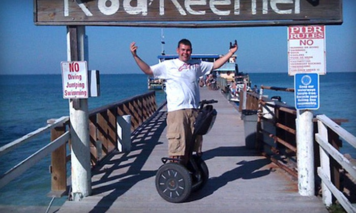 Segs by the Sea - Bradenton Beach: 60-Minute Segway Rental or Tour from Segs by the Sea (51% Off)