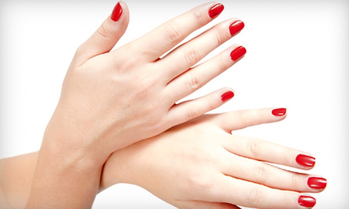 Paris Nails & Spa - Cannon Oaks: One or Two Shellac Manicures at Paris Nails & Spa (Half Off)