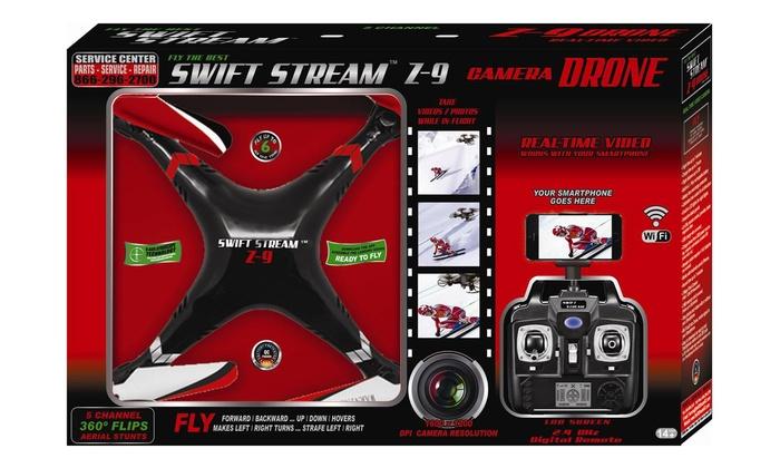 Zswiftstream Z 9 Camera Drone Groupon Goods