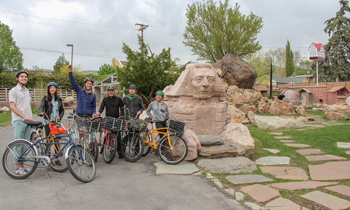 Salt Lake Bicycle Tours - Central City/ Liberty Wells: One- or Three-Hour Bike Tour for Two or Four from Salt Lake Bicycle Tours (Up to 56% Off)