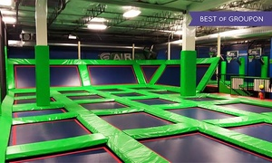 Rebounderz Lansdale: Two 90 Minute Jump Passes or Four 60 Minute Jump Passes at Rebounderz Lansdale (40% Off)