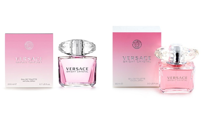 Versace Bright Crystal Eau de Toilette for Women; 3 or 6.7 Fl. Oz
