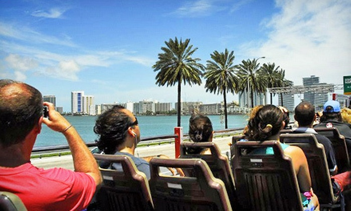 Big Bus Tours - Big Bus Tours Miami: 24 or 48 Hours of Hop-On, Hop-Off Miami-Sights Bus Touring from Big Bus Tours (Up to 51% Off)