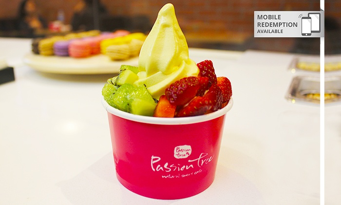 Passiontree Velvet - : $2 One Petit Frozen Yoghurt or $3 for One Classic Frozen Yoghurt with One Topping at Passion Tree (Up to $6 Value)