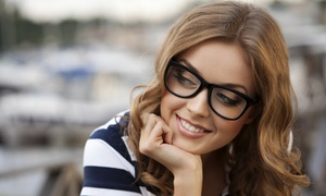 Montebello Optometry: Eye Exam with Credit Toward Lenses and Frames or Two Pairs of Lenses at Montebello Optometry (Up to 82% Off)