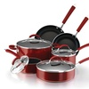 Farberware 12-Piece Nonstick Porcelain Cookware Set