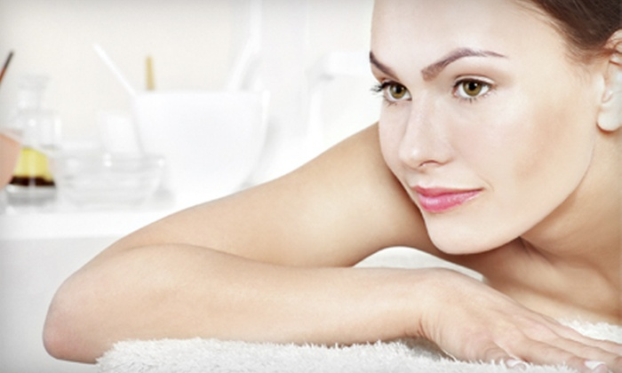 Serenity Spa Wellness Center - Gaithersburg: Swedish or Aromatherapy Massage, or Deep-Tissue Massage & Facial at Serenity Spa Wellness Center (Up to 51% Off)
