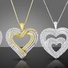 $99.99 for a Diamond Heart Pendant Necklace
