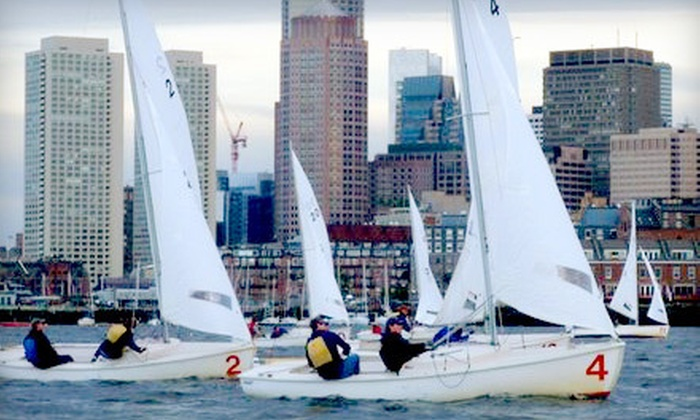 Courageous Sailing Center - Charlestown: $95 for a Two-Hour Sailing Lesson or Cruise for Up to Two from Courageous Sailing Center ($190 Value)